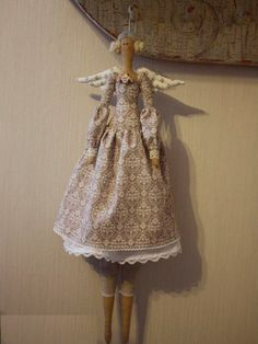 tilda doll. via Etsy.