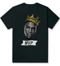Kevin Durant MVP Tee by Group Fly Clothing $30.00
