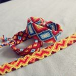 """52 Likes, 3 Comments - Selfmade friendshipbracelets (@diy.friendshipbracelets) on Instagram: """"#friendshipbracelets #selfmadebracelets #diy #cotton #pattern #rainbow #plane #colorful"""""""