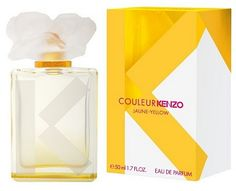 Couleur Kenzo Jaune  (lemon, orange blossom & jasmin, vanilla & musk) ...It reminds me too much of laundry detergent, orange blossom with lemon. I like them, but not together. I've just discovered a fabulous lemon fragrance in Paradoxe anyway!