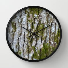 Tremose Wall Clock by lisnas Wall Clock Frame, Unique Wall Clocks, Natural Wood, Store, Storage, Shop