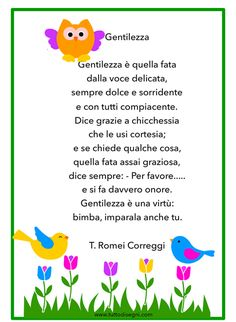 Italian Language, Decoupage, Gentile, Teaching, Writing, Education, Motivation, Feelings Activities, Early Education