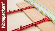 Woodpeckers Parallel Guide System - YouTube