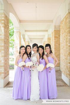 Lavender Bridesmaid Dresses, Purple Wedding, Purple Bridesmaids, Formal Photography, Outdoor Wedding Photos