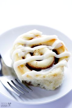 1-hour cinnamon rolls (with cream cheese icing) from  Gimme Some Oven