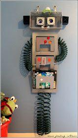 Make Them Wonder: Robot Room Update