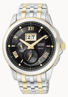 Amazon.com: Citizen Men's BT0004-57E Eco-Drive Calibre 3100 Twin Date Two-Tone Watch: Citizen: Watches