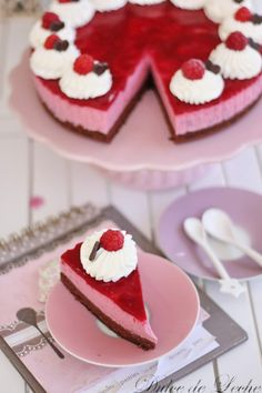Dulce de Leche: Malinovo tvarohová torta Desserts, Blog, Dulce De Leche, Sweets, Tailgate Desserts, Deserts, Postres, Blogging, Dessert