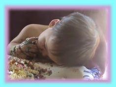 Baby Falls Asleep on First Birthday Cake