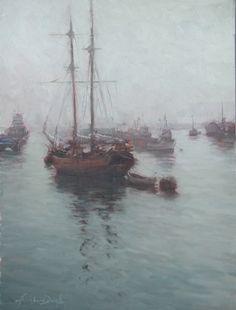 artist Kathleen Dunphy 'Paul's Passion'  Oil on Canvas  24 x 18