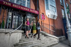 Belvedere Hotel Parnell Square Dublin In Central Dublin, the Belvedere Hotel is a walk from Connolly Station, a walk from Dublin's famous O'Connell Street and the Spire of Dublin which also has access to fantastic shopping on Henry Street.