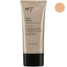 The Best Foundations for Each Skin Type: Best Drugstore Tinted Moisturizer: Boots No7 with SPF 15