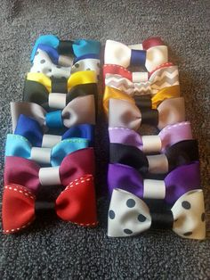 Hey, I found this really awesome Etsy listing at https://www.etsy.com/listing/252582170/party-favor-bow-ties-set-of-12-assorted