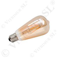 Bombilla LED filamentos Pebetero - Vitrificados Murcia SL