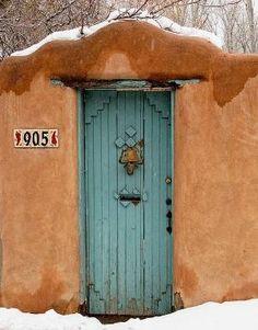 Santa Fe door. My happy place!! by leticia