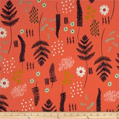 Designed by Alexia Marcelle Abegg of Green Bee Design for Cotton + Steel, this cotton print is perfect for quilting, apparel and home decor accents. Colors include navy, mint, white, blush, mustard, and coral sunset.