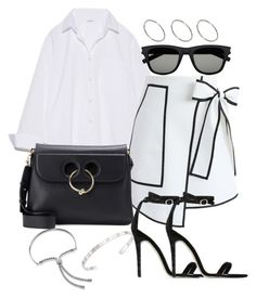 """Untitled #2848"" by theeuropeancloset on Polyvore featuring Chicwish, J.W. Anderson, Baldwin, Yves Saint Laurent, ASOS, Gucci and Monica Vinader"