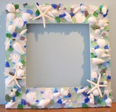 >Beach Grass Cottage: Sea Glass, Seashells & Starfish | Sally Lee by the Sea