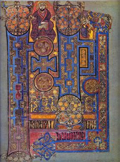 The Book of Kells -  click for higher resolution