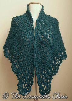 Daisy Fields Shawl - Free Crochet Pattern - The Lavender Chair 1