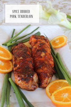 In Honor Of Design: Easter Dinner Series: Spice Rubbed Pork Tenderloin