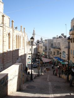 Bethlehem-Bethlehem: al-Deir Area and it is called Darajeh closed to the Nativity Church and Omar Mosque Bethlehem Israel, Places To See, Places Ive Been, Timor Oriental, Brunei, Nativity Church, Maldives, Israel Palestine, Iran