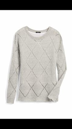 Love the texture/design on this sweater