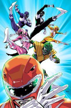 Go Go Power Rangers! - Pop Mhan