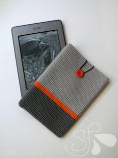 Funda E-Book ganchillo