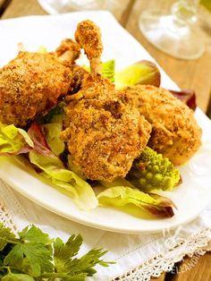 Il Pollo croccante impanato è quanto di più veloce e genuino si possa preparare per una cena all'insegna del gusto. E piace tantissimo ai bimbi!