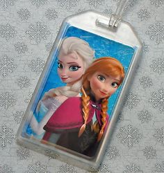 Disney Frozen Anna, Elsa, Olaf, bag tag, backpack tag, luggage tag, party favor,
