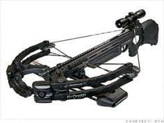 Zombie Apocalypse Survival Weapons and Equipment: Barnett Ghost 400 CRT Crossbow