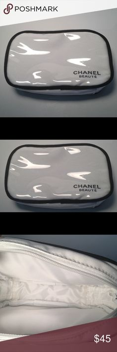 ⭐️Host Pick⭐️NWOT CHANEL Beaute Cosmetic Bag NWOT Chanel Beaute Cosmetic Makeup Bag Pouch Clutch💋100% Authentic Guaranteed. CHANEL Bags Cosmetic Bags & Cases