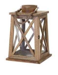 Jacey Wood Lantern