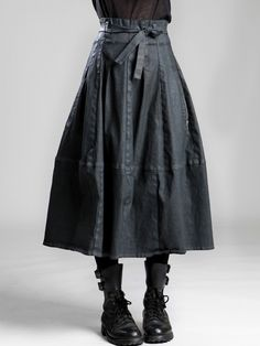 COTTON-LYCRA SKIRT WITH RESIN COATING - JACKETS, JUMPSUITS, DRESSES, TROUSERS, SKIRTS, JERSEY, KNITWEAR, ACCESORIES - Woman -