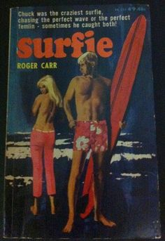 Surfie by Roger Carr - P/B Book, 1966 - Horwitz 1st ed - Scarce Surfing Pulp