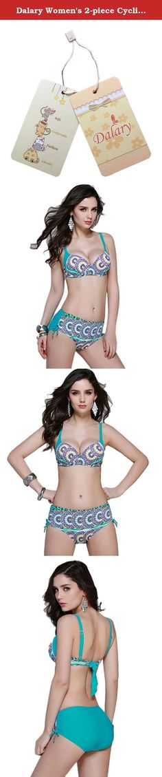 "Dalary Women's 2-piece Cyclic Floral Vibrant Repeat Bikini Bathing Suit (Medium, Green). Warm Prompt1: Please make sure you order from "" Dalary"" Store, we offer the best quality products with Environmental Material, it will not hurt skin. Warm prompt2: We NEVER authorize any other seller sell under our listings,please notice the brand when you order. Please understand: 0.39''-1.2'' will be normal,swimming material always has stretched If the item is fit for you very well, could you please..."