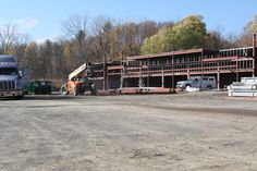 Progress pictures on the retail space for lease in Latham Plaza