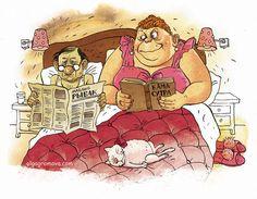 Чтение на ночь - Весёлые картинки, и не очень... Reading at night
