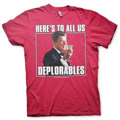 "🇺🇸NEW T -SHIRT 🇺🇸🇺🇸🇺🇸🇺🇸 #Trump2016 🇺🇸🇺🇸🇺🇸🇺🇸🇺🇸 ""Here's to all us, Deplorables""  The Number One best President of all time cheers to all of us Deplorables. An Uncle Sam's Misguided Children savage one of the kind T-Shirt. Make sure you get one now and ready to wear on election day!  🇺🇸🔫🇺🇸🔫🇺🇸🔫🇺🇸🔫🇺🇸🔫🇺🇸🔫🇺🇸🔫  http://shop.unclesamsmisguidedchildren.com/collections/mens/products/copy-of-american-infidel-white?variant=29439550854  USE Code USMCnation10 for 10%…"