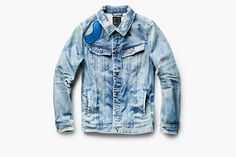 "Win a G-Star RAW x Pharrell Williams ""RAW for the Oceans"" Denim Jacket"