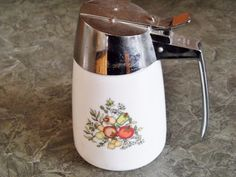 Vintage Syrup Pitcher Dispenser Dripout by VintageCellarDoor, $8.00
