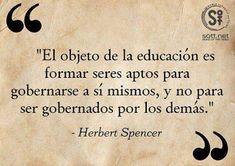 -: Frases para la educación en la escuela, la familia, el deporte y la vida.