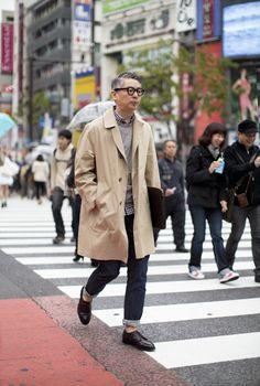 Takahiro Kinoshita, Popeye magazine's editor-in-chief (Tokyo)