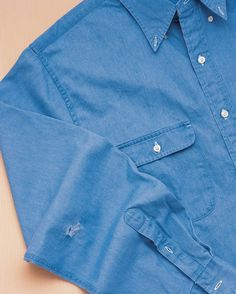 No reason to discard a favorite shirt. A hole can be quickly repaired -- allowing you to enjoy it for years to come.