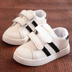 30494d78910 FreeAsABird Nieuwe kinderen Baby Sportschoenen Kids Sneaker Kinderen  Jongens Meisjes Mode Casual Schoenen Streep Rubber Bottom