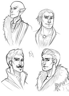 Guys of dragon Age Inquisition by NakashiOroshu on DeviantArt