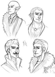 Guys of dragon Age Inquisition by NakashiOroshu on DeviantArt