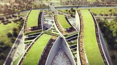 Premier Campus Office in Kagithane Winning Proposal / JDS Architects