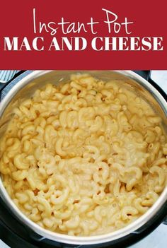 Pressure cooker recipes 59883870032913218 - Instant Pot Mac and Cheese Recipe – the easiest way to make creamy and cheesy macaroni! Made with 5 ingredients right in your pressure cooker! Source by CrunchyCreamySw Instant Pot Mac And Cheese Recipe, Best Instant Pot Recipe, Instant Pot Dinner Recipes, Best Pressure Cooker Recipes, Instant Pot Pressure Cooker, Pasta In Pressure Cooker, Pressure Cooking, Mac And Cheese Pressure Cooker Recipe, Slow Cooker